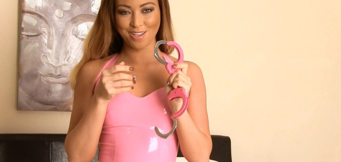 VIDEO: Pink Latex and Handcuffs