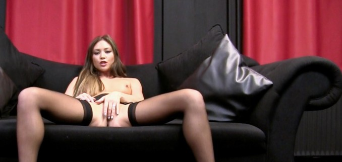 VIDEO: JOI in Satin and Stockings