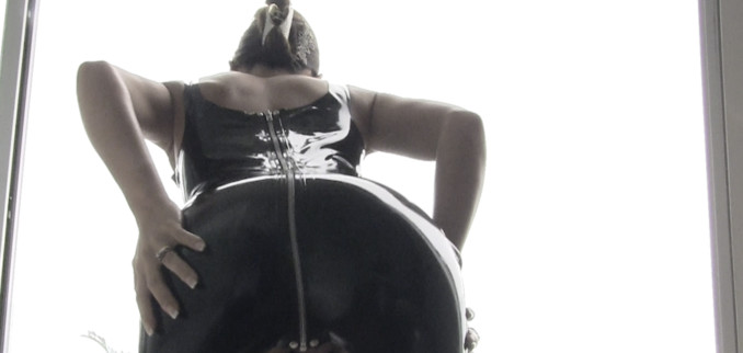 VIDEO: JOI in My Little Black Latex Dress