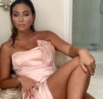VIDEO: Satin Dress After Bathing