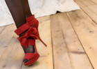 VIDEO: Red High Heels And Stockings